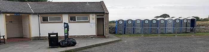 CoVid Toilet Block