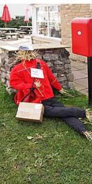 Scarecrow Postie