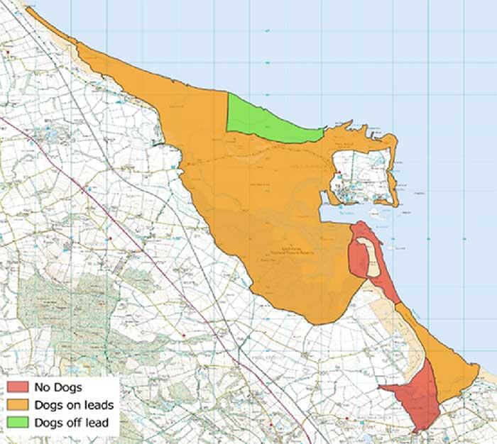 Lindisfarne-NNR-map