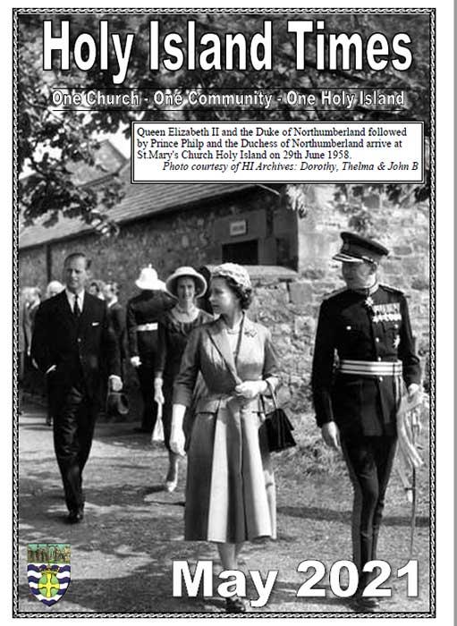 A Royal Visit to Lindisfarne